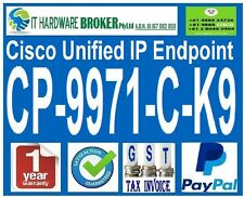 CISCO CP-9971-C-K9 Unified IP Phone - Tax Inv - 1 Year Wty