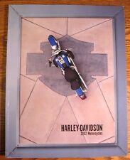 2002 Harley Davidson Prestige Brochure, Full Line, HUGE 54 pgs Electra Glide