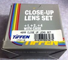 46mm TIFFEN Close-Up Macro +1 +2 +3 Set Kit Lens Filter OEM Genuine Japan 46 mm