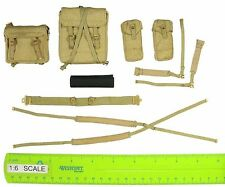 Chinese Expeditionary - Belt & Harness & Pouches - 1/6 Scale - Soldier Story