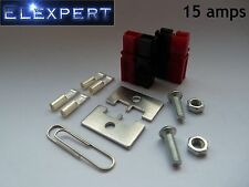 4 X Anderson PowerPole 15amp Conector eléctrico Panel Kit de montaje para Kit car_rc