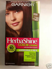 Garnier Herbashine Haircolor Creme #535 Medium Gold Mahogany Brown AMMONIA FREE