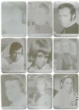 UFO Trading Cards placas de impresión para las tarjetas de Chase, Lote De 18 Placas De Impresoras