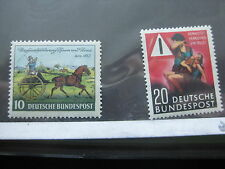 GERMANY  Sc  692 and 694  MINT NEVER HINGED  (Lot CW)