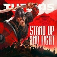 """TURISAS """"STAND UP AND FIGHT"""" 2 CD LIMITED MEDIABOOK NEW+"""
