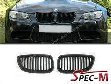 Matte Black Front Grille Grill For 2008-2013 BMW E92 E93 Coupe Convertible M3