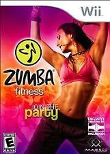 "Zumba Fitness for Wii (2010) DVD Only no belt ""Join the Party"""