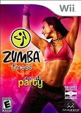 Nintendo Wii Game Disc ZUMBA FITNESS