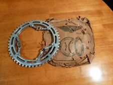 Vintage 1950's - 1960's - NOS - Simplex Double Chainring with Crank Arm Adaptors