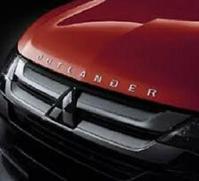 "Genuine Mitsubishi Hood Bonnet Emblem Badge Nameplate ""OUTLANDER"""