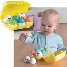 Tomy Hide N Squeak Half Dozen Egg Set - 12 Months Plus Baby / Toddler Toy