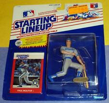 1988 PAUL MOLITOR Milwaukee Brewers HOF - low s/h - Rookie Starting Lineup
