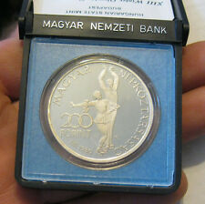 Hungary - 1980 Silver 200 Forint - Proof