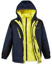 Brand New Hawke & Co. Outfitter Boy 3-In-1 Hooded System Jacket Blue/Yellow !!!
