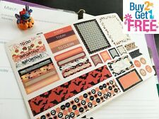 PP113 -- 32pcs Halloween Kit Life Planner Stickers for Erin Condren BUY 2 GET 3