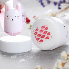 3Pcs/set Nail Art Stamper Rabbit Design Silicone Head w/ 2 BORN PRETTY Scrapers