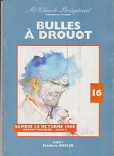 Catalogue Vente BD Bulles à Drouot 16 - 24 octobre 1998. Superbe