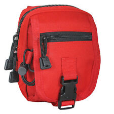 NEW Military Tactical Multi-Purpose Accessory MOLLE Gear Pouch MEDIC RED