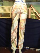 Women's misses Dismero Size 31 Multi color Stretch Straight  Pucci Jean NWT $245