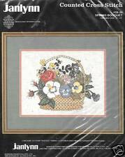 SPRING BOUQUET COUNTED CROSS STITCH KIT BY JANLYNN