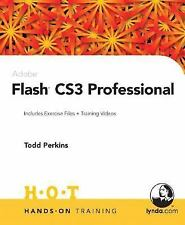 Adobe Flash CS3 Professional Weinman HANDS ON TRAINING