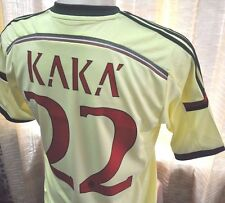 Milan shirt Away 2014-2015, sz Small *Adult #22 KAKA' Official Nameset LOOK!!!