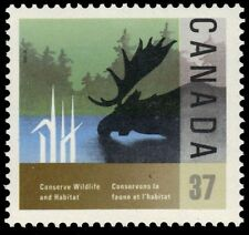"""CANADA 1205 - Wildlife Conservation """"Moose"""" (pa33901)"""