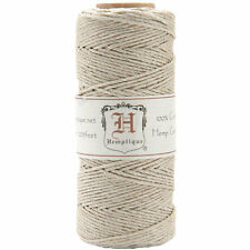 Natural 20lb Hemp Cord / Twine for Packaging, Jewelry, Etc. 205 Feet - Natural