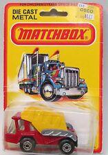 1980 Matchbox #37 SKIP TRUCK Superfast factory sealed blister card