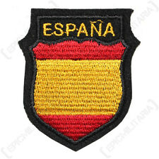 German Army ESPANA SPANISH Blue Division VOLUNTEER BADGE Shield Patch WW2 Repro