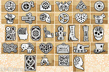 CRAFT ROBO/SILHOUETTE Steampunk Topper & layer templates CD116 by cocopopart