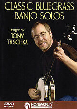 Learn To Play Banjo DVD Tutor Lesson Book Bluegrass NEW