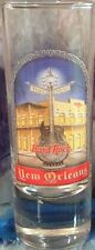 "Hard Rock Cafe NEW ORLEANS 2005 City Tee T-Shirt 4"" SHOT GLASS Cordial BARWARE!"