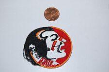 """Florida State Seminoles FSU 2 1/8"""" Logo Patch College"""