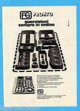 QUATTROR980-PUBBLICITA'/ADVERTISING-1980- FG PRONTO - GUARNIZIONI