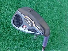 Wilson Staff TW9 54 Sand Wedge Tour Milled Black Finish Steel Wedge NEW 54.10 RH