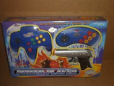 Power Player TV Video Game, Blue, Super Joystick, 76000, Original New Addition