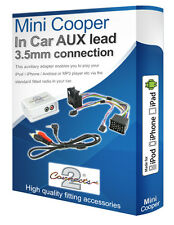 BMW Mini Cooper AUX iPod iPhone MP3 player BMW iPod AUX in adapter interface kit