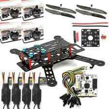 250MM Pure Carbon Fiber Quadcopter Kit CC3D Controller EMAX MT2204 Motor 12A ESC