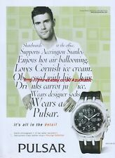 Pulsar Prestige Collection Watch Chronograph 2005 Magazine Advert #2529