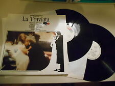 LP OST James Levine - Franco Zefirelli's La Traviata / 2LP (.. Song) WEA Domingo