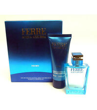 COFANETTO -FERRE ACQUA AZZURRA FOR MEN EDT SPRAY 50ml + SHAMPOO&SHOWER GEL 100ml