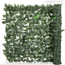 Artificial Privacy Wind Screen Fencing Wall Garden Terrace Ivy Leaf Mesh Decor