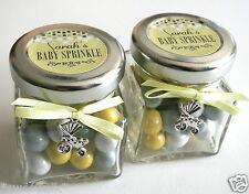BABY SHOWER FAVOUR, PERSONALISED CHOCOLATES CANDY JAR, CHRISTENING PARTY FAVOUR