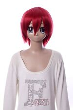 W-10-135 rot red 33cm COSPLAY Perücke WIG Perruque Haare Hair Anime Manga
