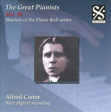 Masters of the Piano Roll - The Great Pianists Vol 10 / Alfred Cortot, New Music