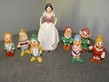 Goebel Snow White & 7 Dwarfs Walt Disney Set
