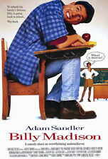 """BILLY MADISON Movie Poster [Licensed-NEW-USA] 27x40"""" Theater Size Adam Sandler"""