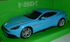 Aston Martin Vanquish 1:24 Blue by Welly