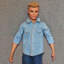 Barbie Doll Fashion Clothes Cowboy Shirt For KEN Dolls